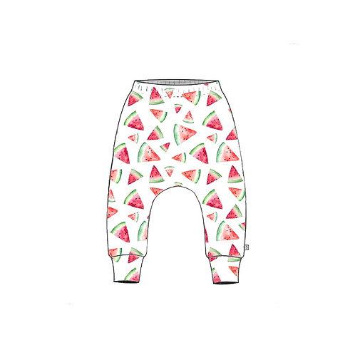 Watermelon Slim Harem Leggings