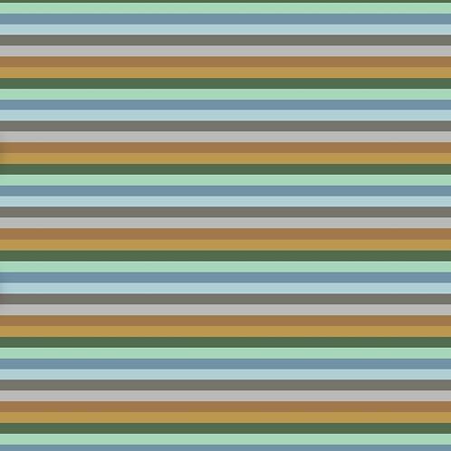 Grassland Stripe Bloomer Romper
