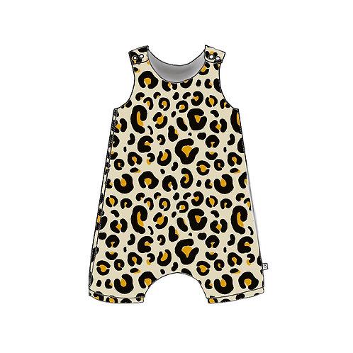 Leopard Shortie Romper