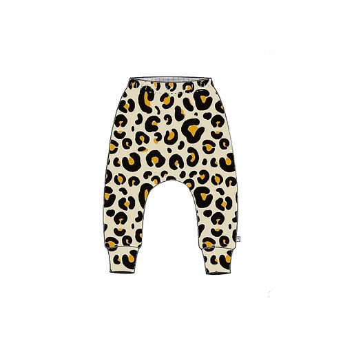 Leopard Slim Harem Leggings