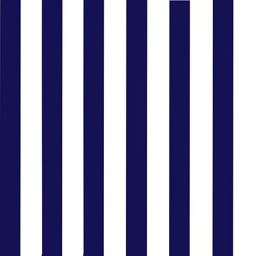 Vertical Stripe Shortie Romper