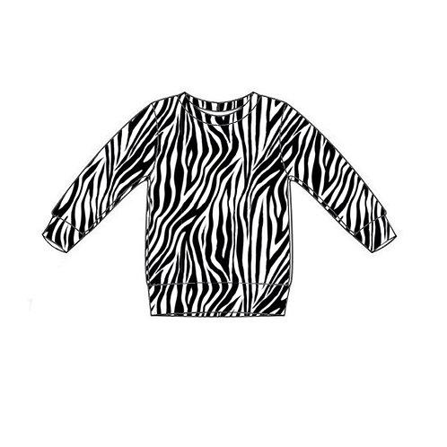 Zebra Lightweight Sweater