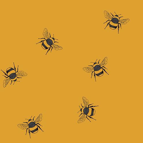 Adult Lightweight Sweatshirt - Ochre Bees