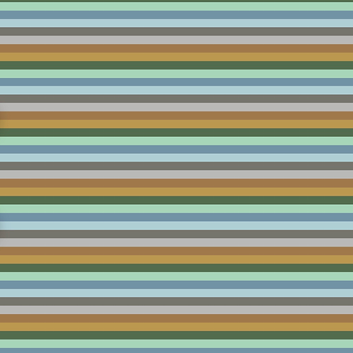 Grassland Stripe Harem Shorts