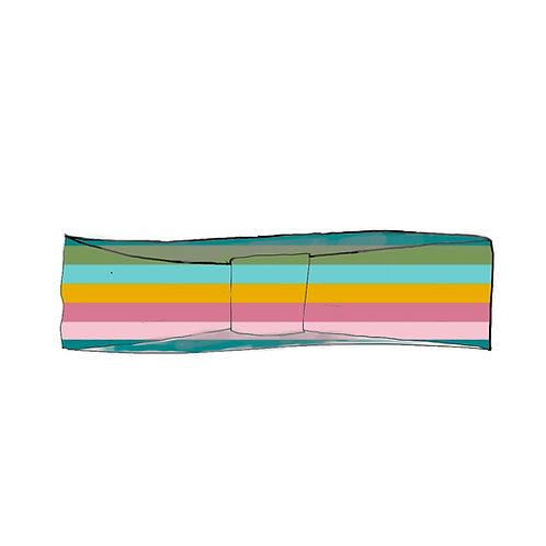 Sorbet Stripe Adult Headband