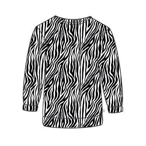 Zebra Adult Sweatshirt