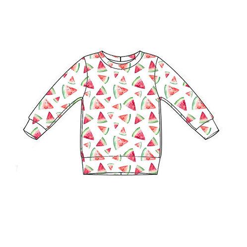 Watermelon Lightweight Sweater
