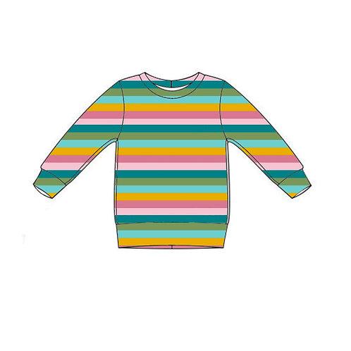 Sorbet Stripe Lightweight Sweater