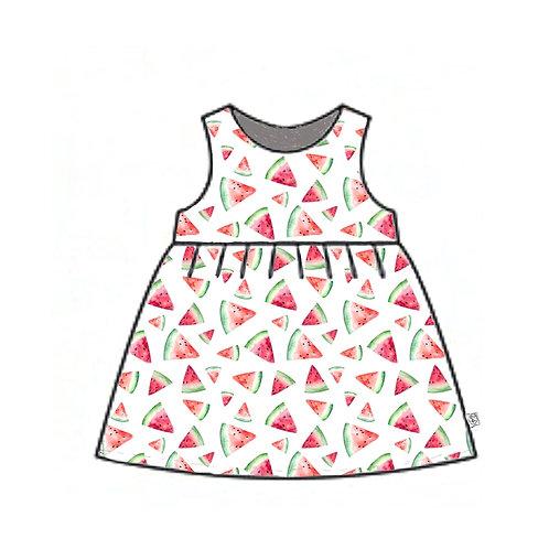 Watermelon Pinafore Dress