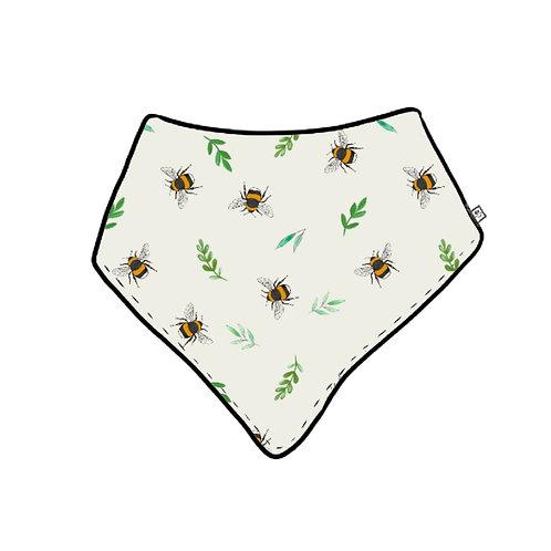 Botanical Bees Dribble Bib