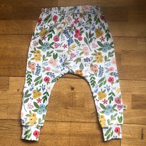 Wildflower Slim Harem Leggings
