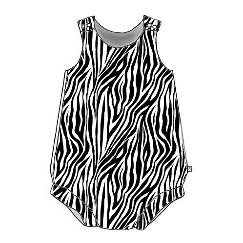 Zebra Bloomer Romper