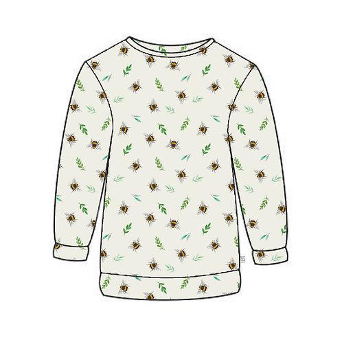 Botanical Bees Adult Sweatshirt