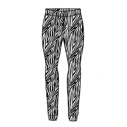 Zebra Adult Leggings