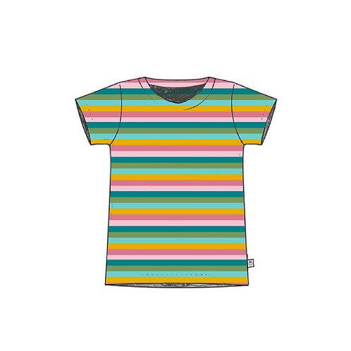 Sorbet Stripe Adult T-Shirt