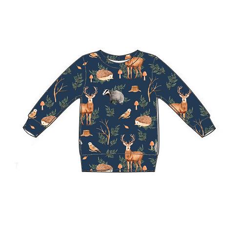 Woodland Lightweight Sweater Top