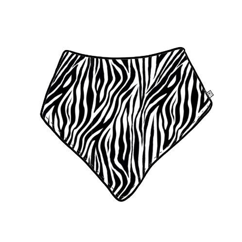 Zebra Dribble Bib