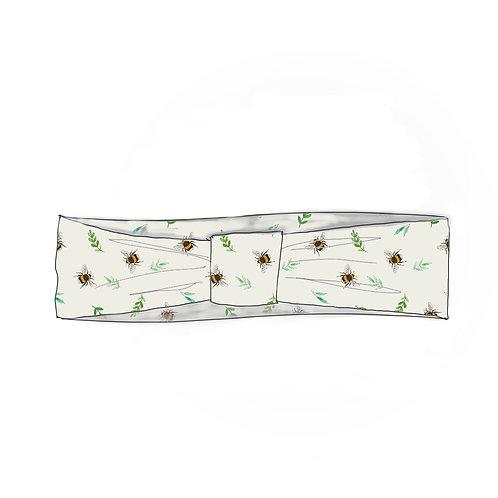 Botanical Bees Adult Headband