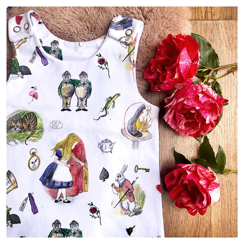 All Mad Here Bloomer Romper