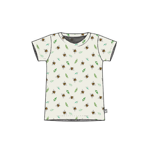 Botanical Bees Adult T-Shirt