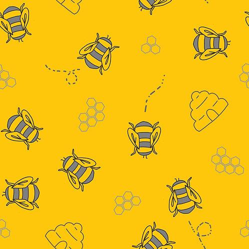 Bumble Bees Harem Shorts