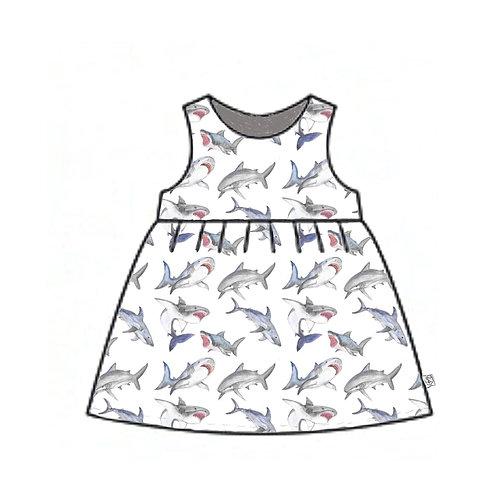 Great Whites Pinafore Dress