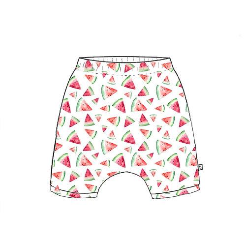 Watermelon Harem Shorts