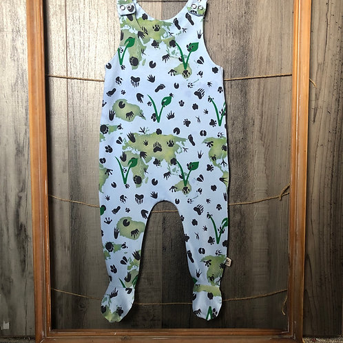 V for Life Footed Baby Romper