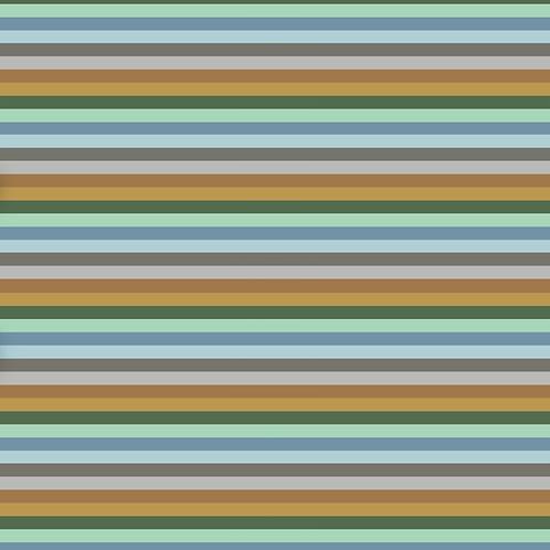 Grassland Stripe Harem Romper