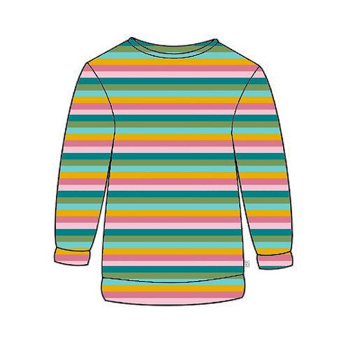 Sorbet Stripe Adult Sweatshirt