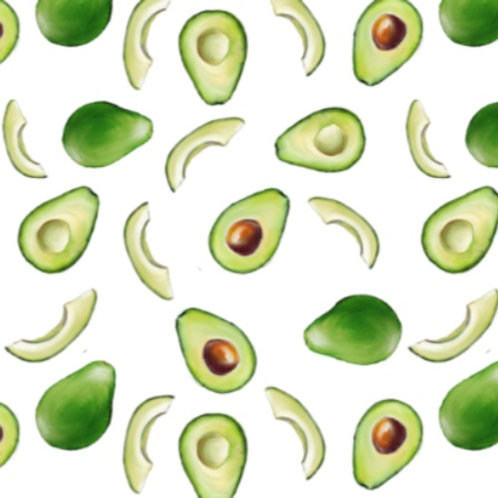 Avocados Footed Baby Leggings
