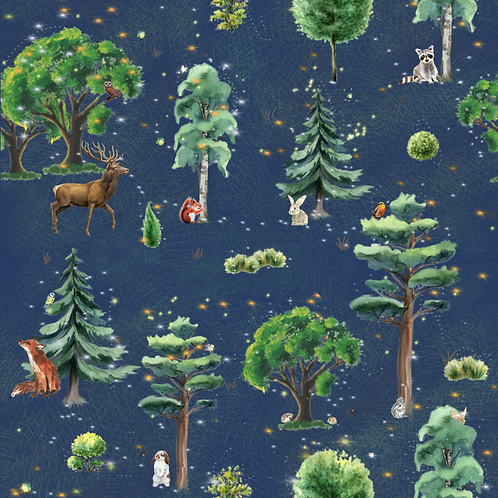 Enchanted Woods Organic Cotton Skirt