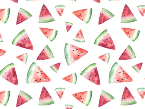 Watermelon Organic Shortie Romper
