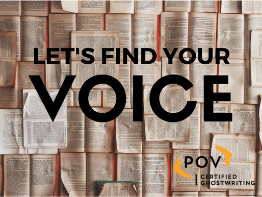 How a Certified Ghostwriter Perfects Your Voice on the Page