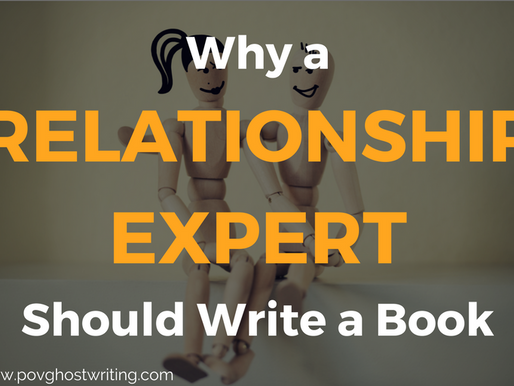 Why a Relationship Expert Should Write a Book