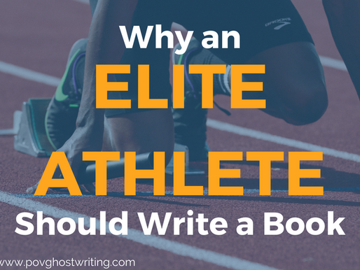 Why an Elite Athlete Should Write a Book