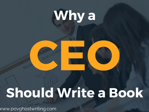 Why a CEO Should Write a Book