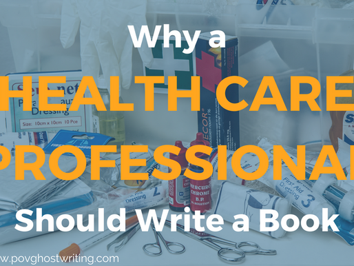 Why a Health Care Professional Should Write a Book