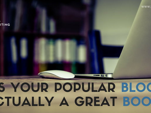 Is Your Popular Blog Actually a Great Book?
