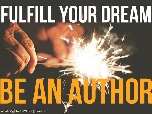 Fulfill Your Dream: Be an Author