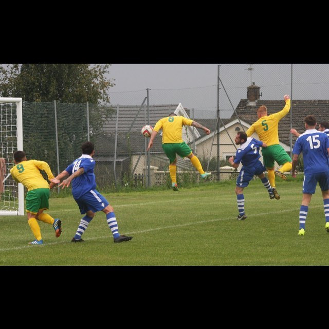 Our first ever Welsh League goal. Scored