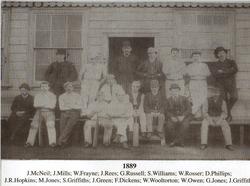 Ynysygerwn CC 1889 Team Photo