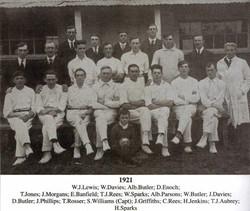 1921 Team Photo