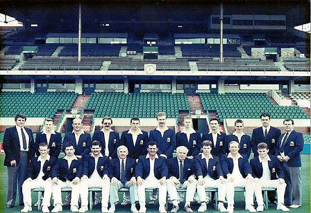 ynysygerwn cricket club Australia tour 1991