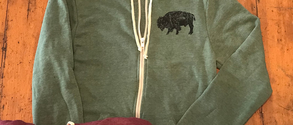 Arm the Buffalo zip-up hoodie