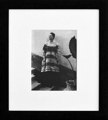 Frida Kahlo - Casa Azul Coyoacan, Mexico (Framed), 1945 (B&W)