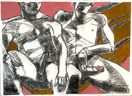 Two Nudes, 1996