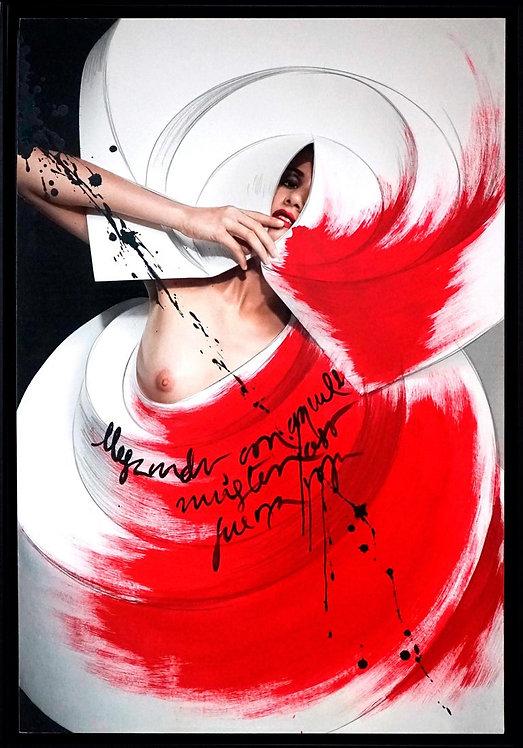 Color Origami Spiral II, 2010