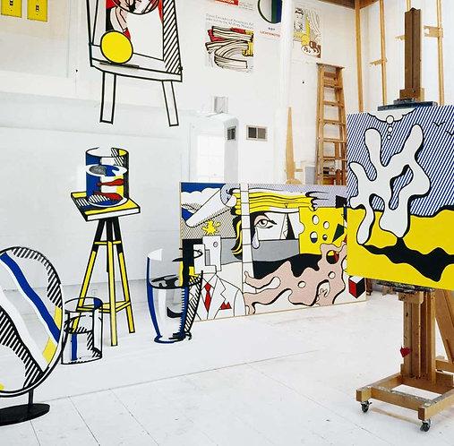 Roy Lichtenstein, New York, (Lichtenstein Studio, Southampton), 1977