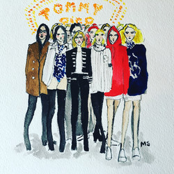 Tommy X Gigi Collection in 2016
